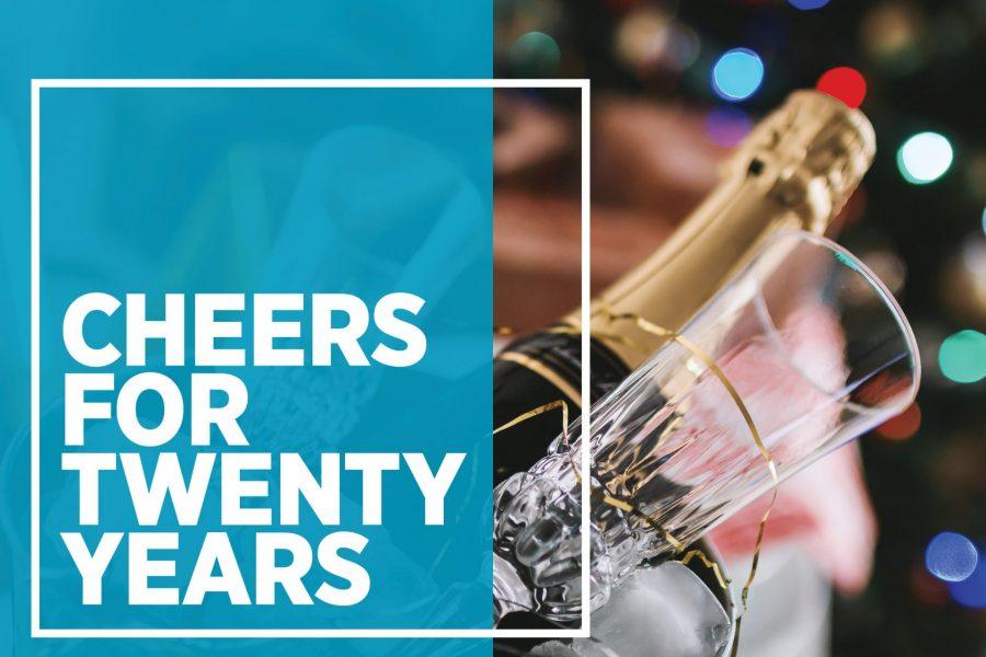 Cheers For Twenty Years