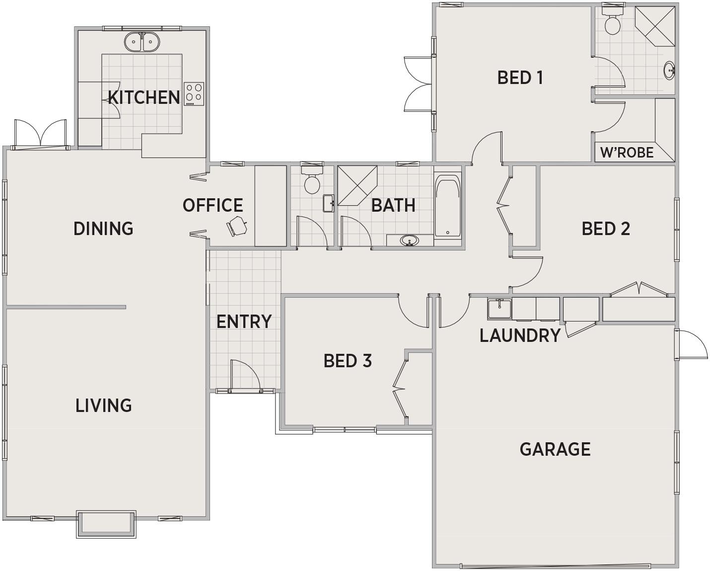 Alexia Floor Plan | Penny Homes