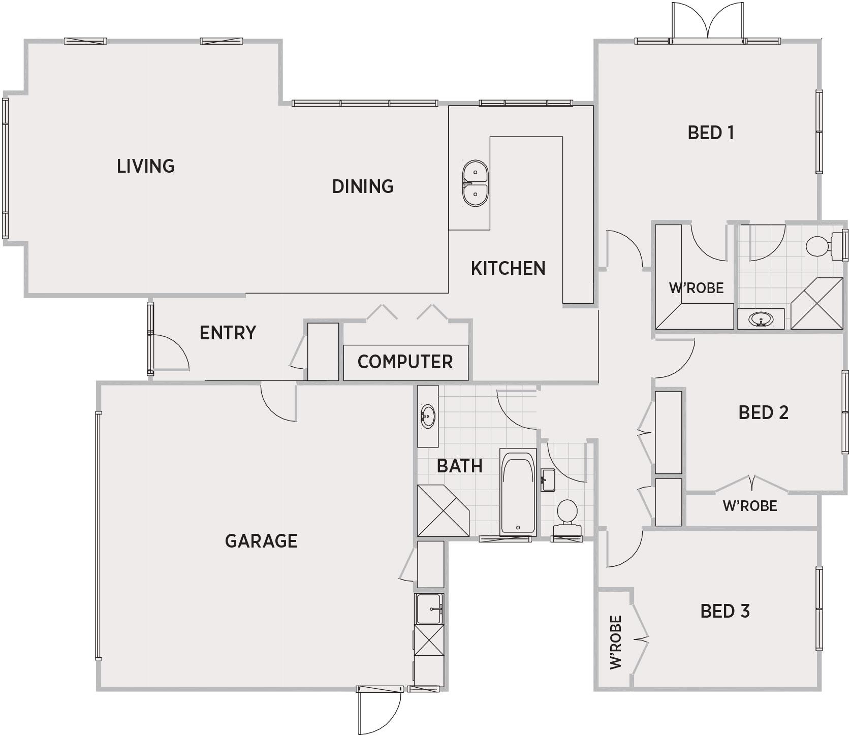 Alona Floor Plan   Penny Homes