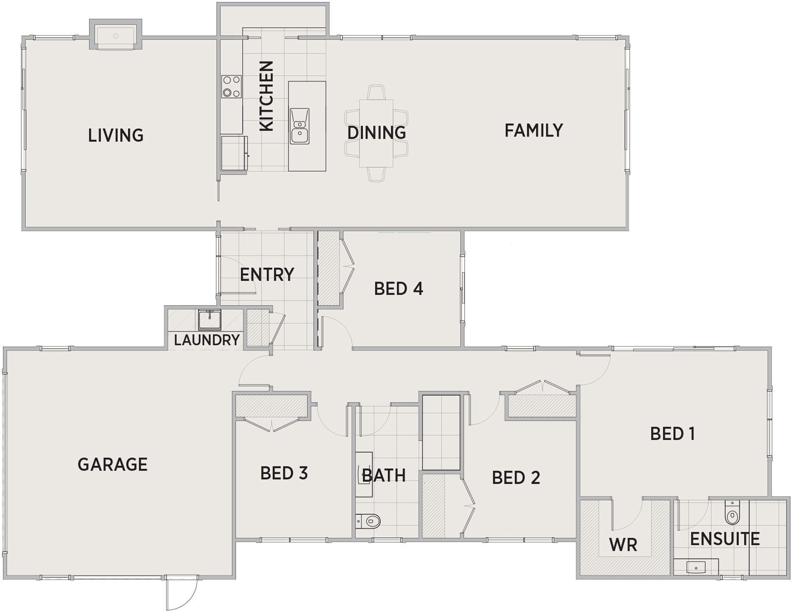 Arnold Floor Plan | Penny Homes