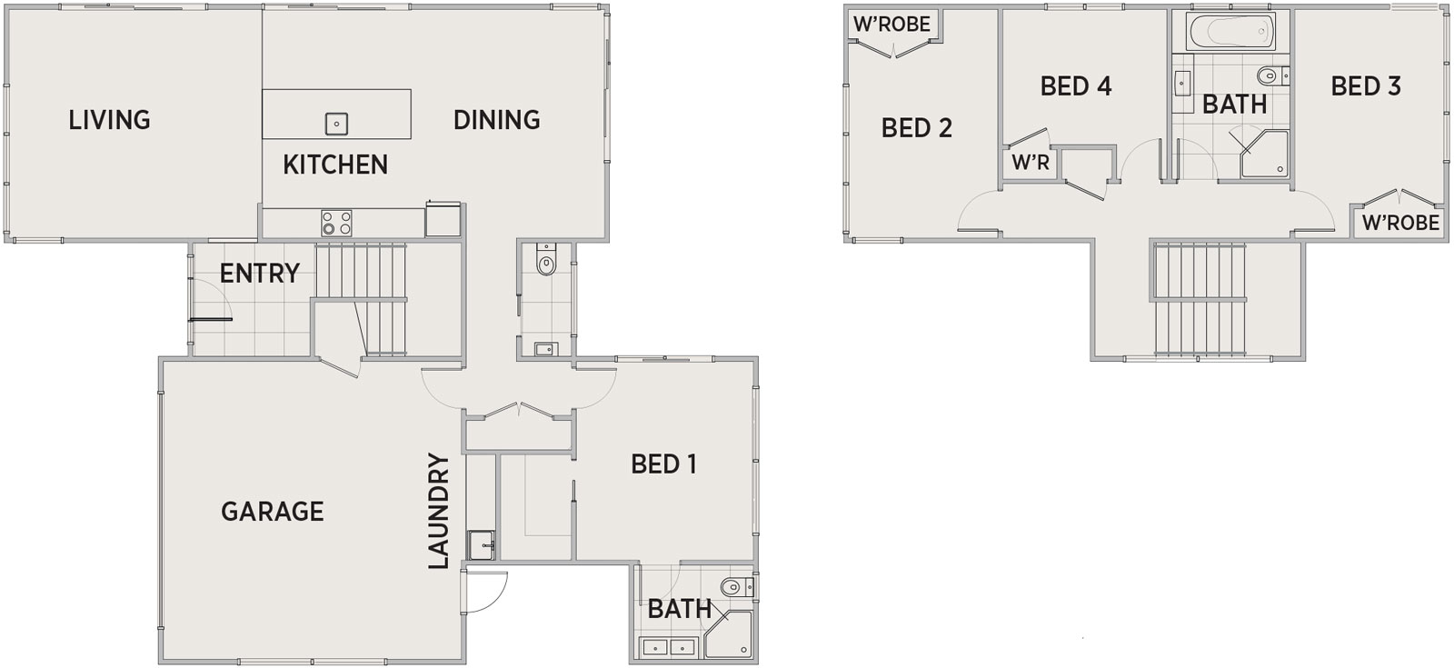 Bayliss Floor Plan | Penny Homes