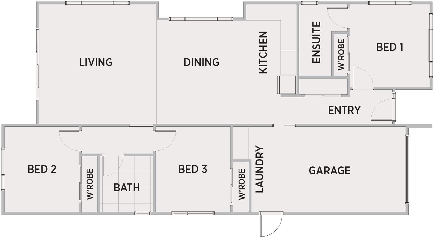 Ceretto Floor Plan | Penny Homes