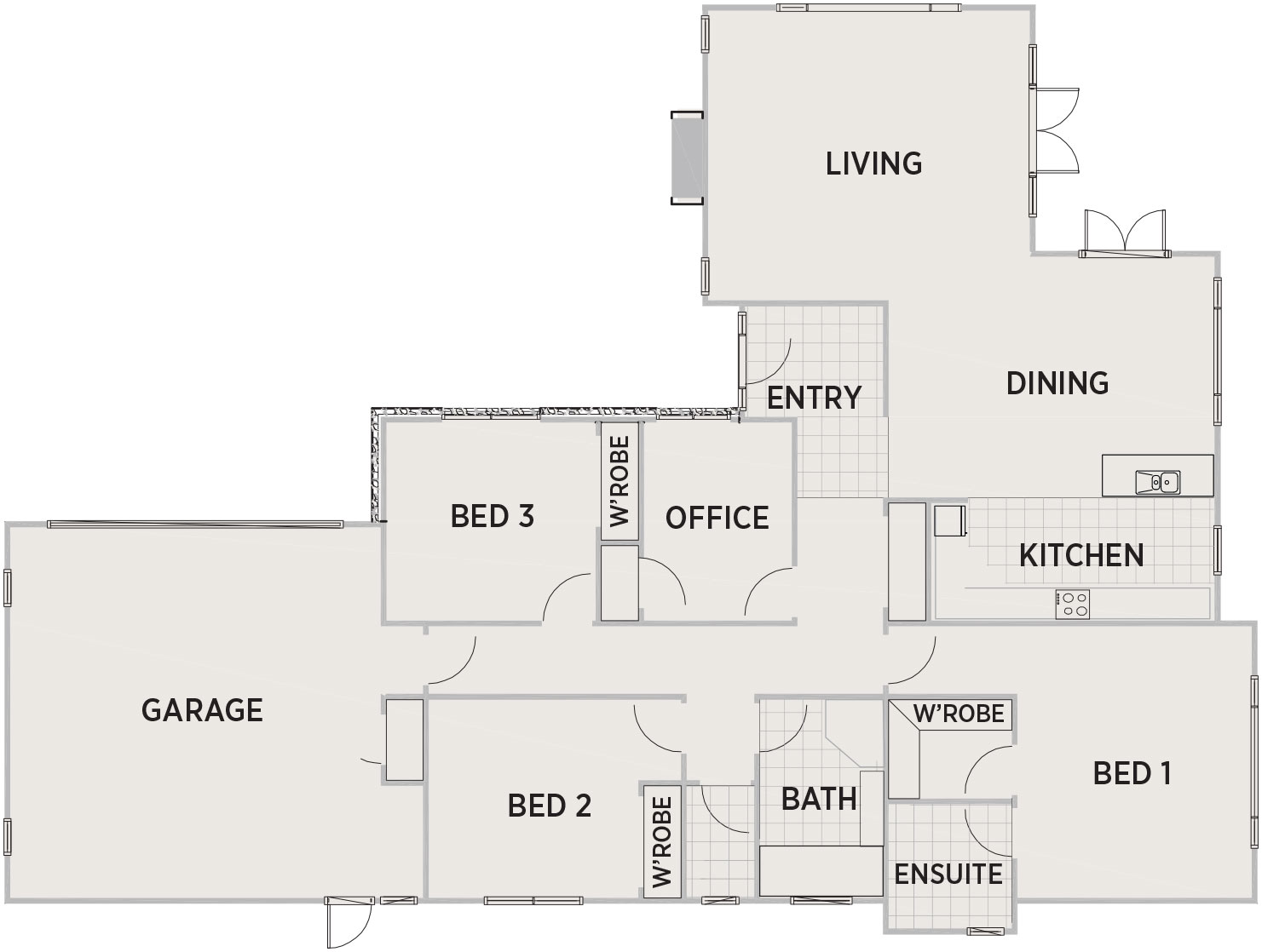 Clayridge Floor Plan   Penny Homes