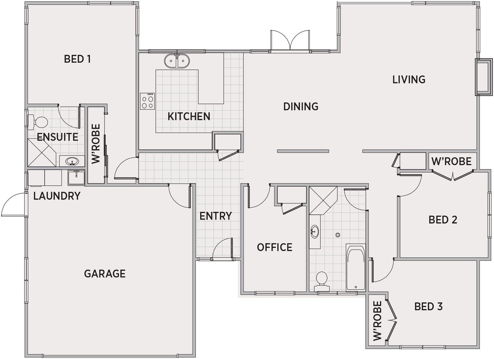 Lauregan Floor Plan | Penny Homes