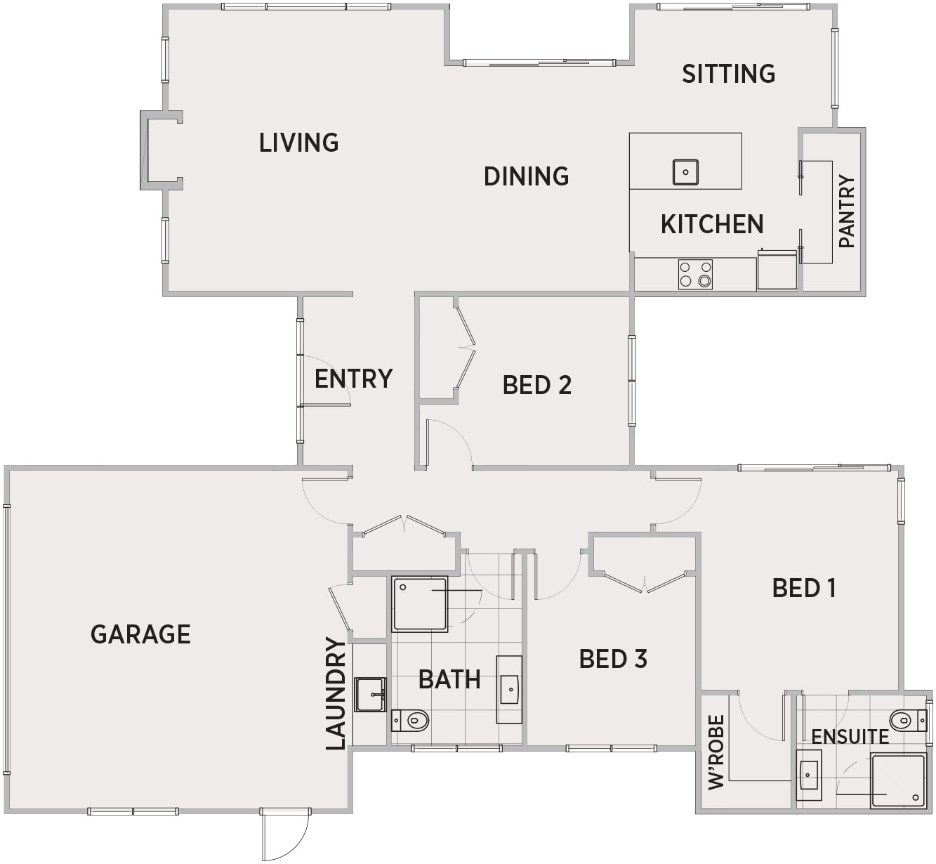 Millbrook Floor Plan | Penny Homes