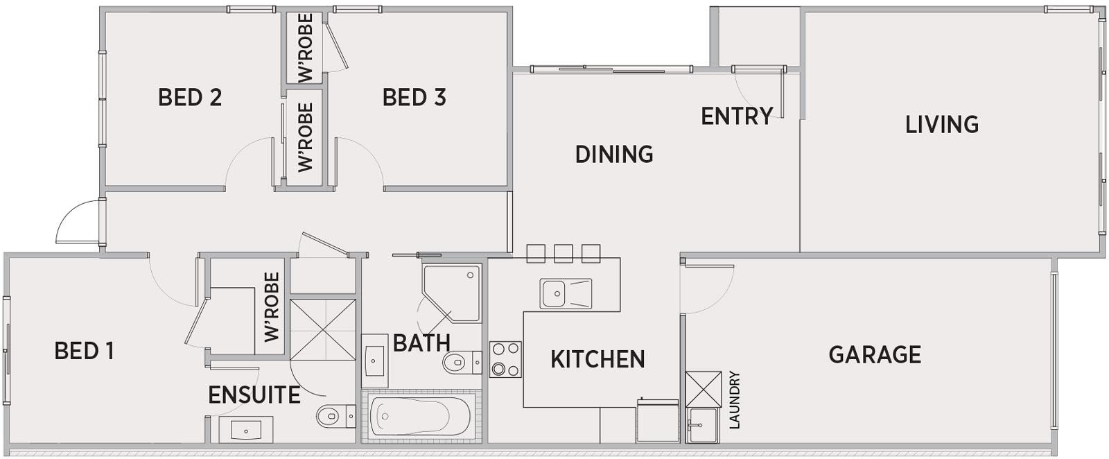 Monte Bello Floor Plan   Penny Homes