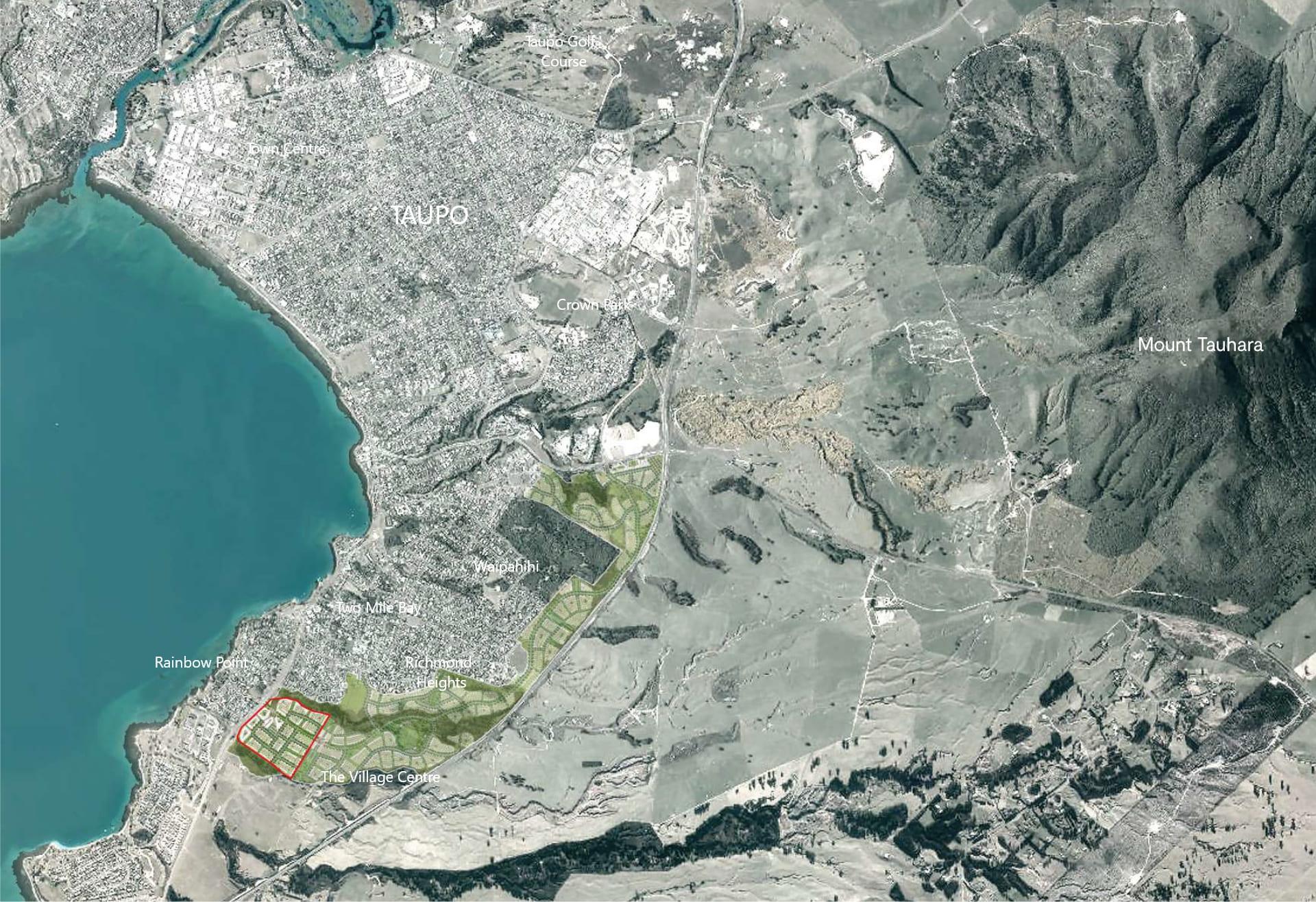 Kokomea Development Map | Taupo NZ